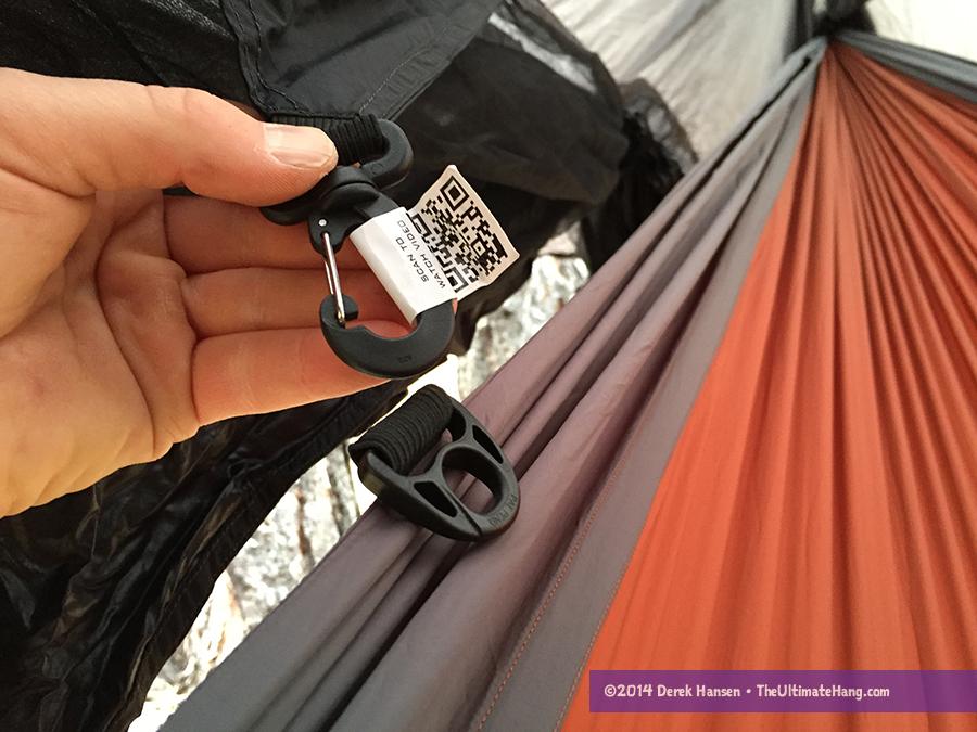 Nubé clip to Pares hammock