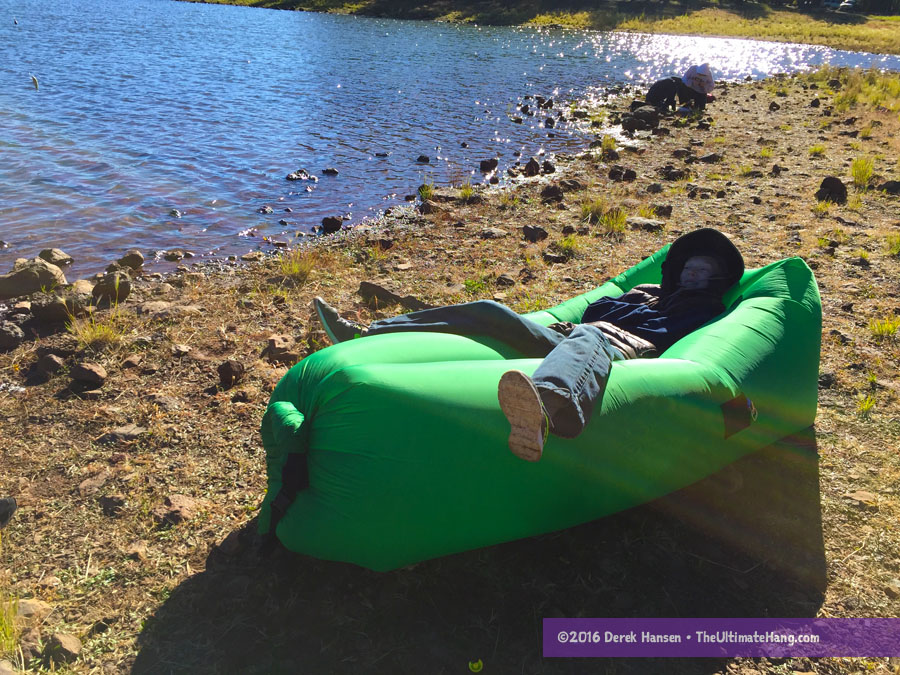 Air Nest Inflatable Hammock Lounger