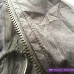 Two-way toothed zipper.