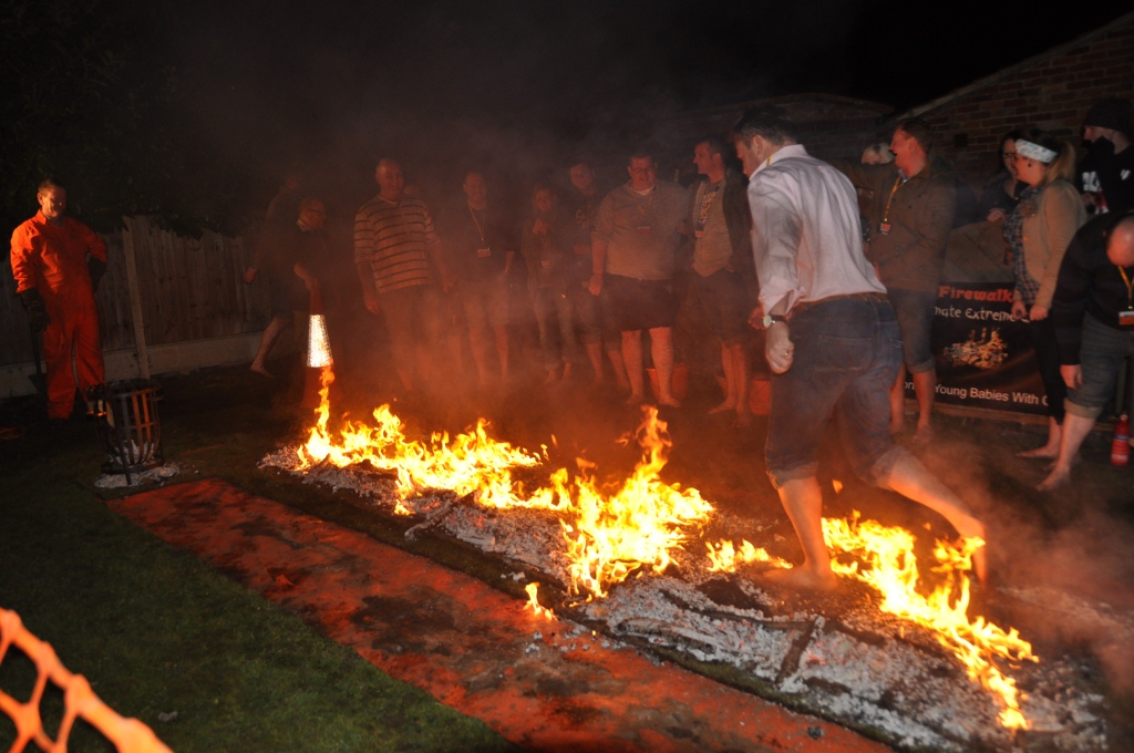 Middle Australia Goes Fire Walking To Try To Get Over Its