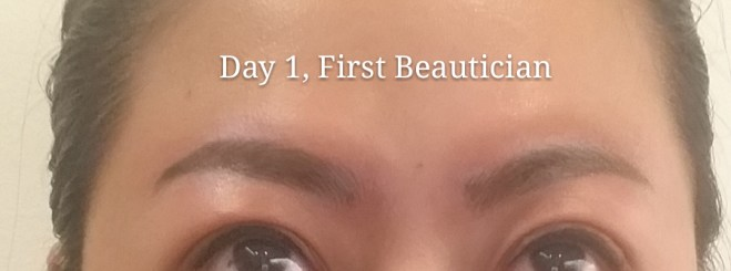 Day 1 - First Beautician