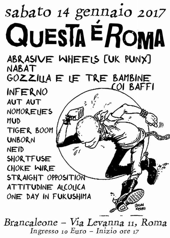 Questa è Roma 2017 - Flyer