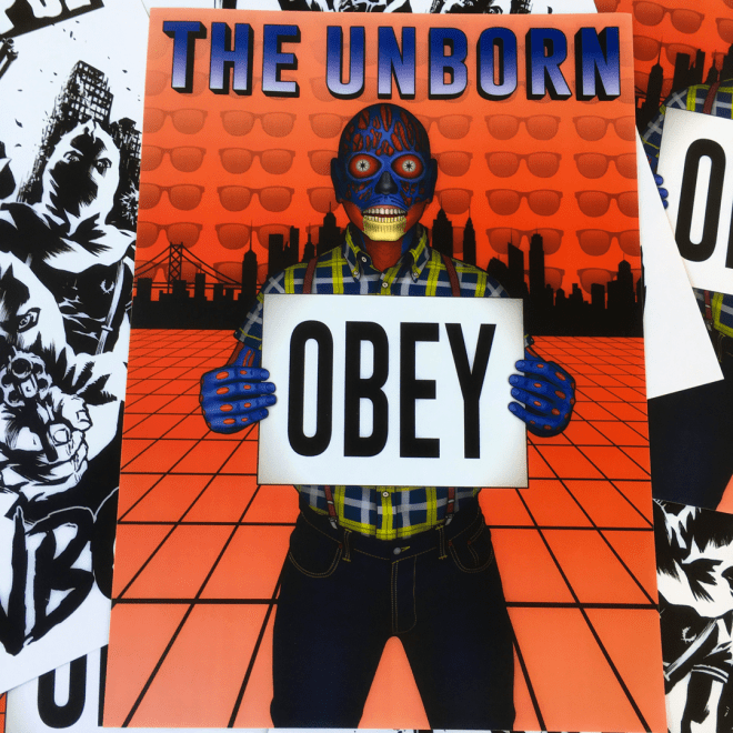 The Unborn poster by Alessandro Aloe