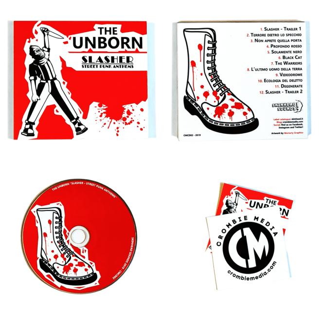 The Unborn - Slasher Street Punk Anthems (digipack CD)
