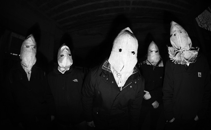 Foto della band horror street punk The Unborn