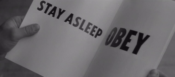 Stay asleep! Obey!