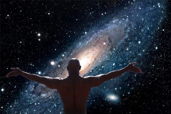 man-universe-space