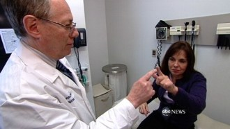 ABC News doctor and woman