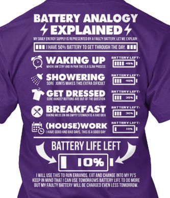 battery analogy explained purple tee
