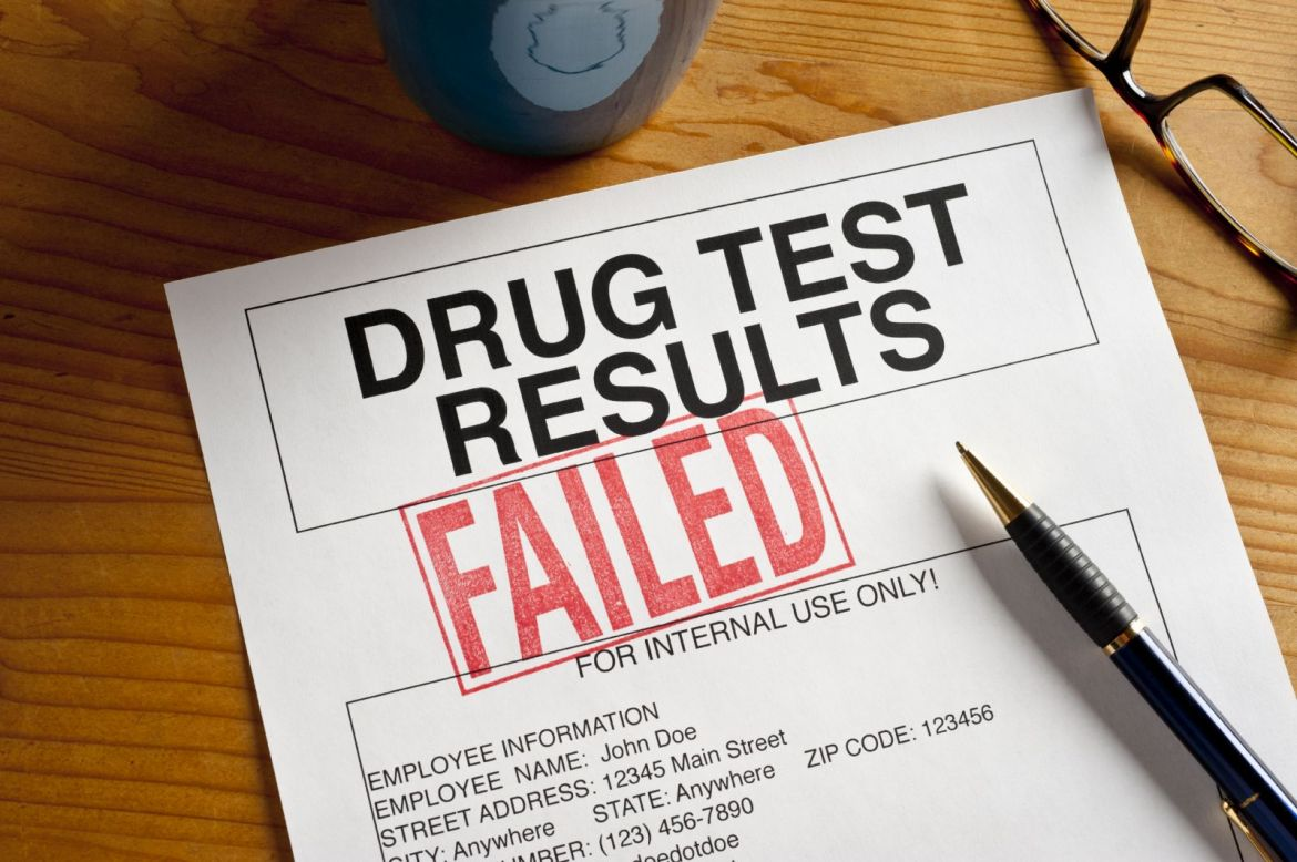 Drug Test - Failed