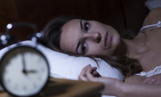 Growing Up With 'Painsomnia' And The Coping Techniques I Have Found Along The Way - woman awake in bed at night