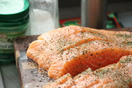 Salmon helps fight inflammation and may help treat eczema