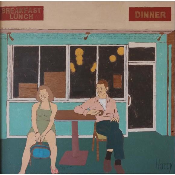 Sit The Evocative Art of Harry Underwood