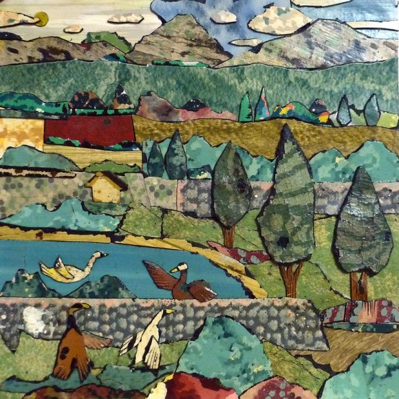 Bill landscape The Linoleum Art of Bill Miller