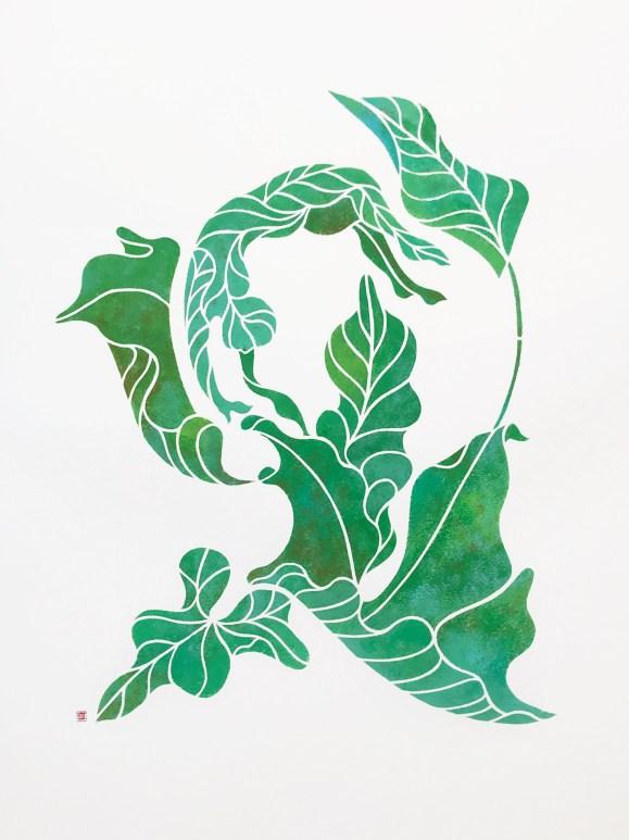 Leafy dancer 2 1 451x600 Artist Interview Mayuko Fujino