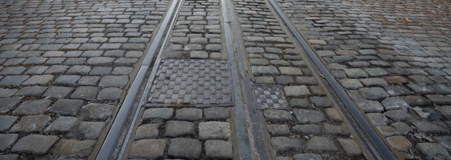 Why are there streetcar tracks in Georgetown?