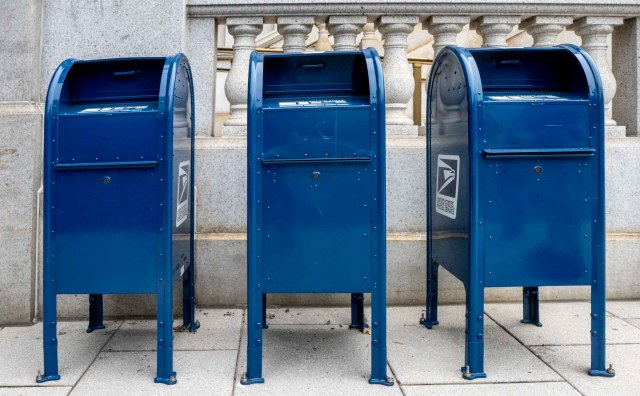 In appreciation of the USPS