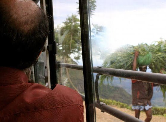 Sri Lanka backpacking tips cover image of view from bus