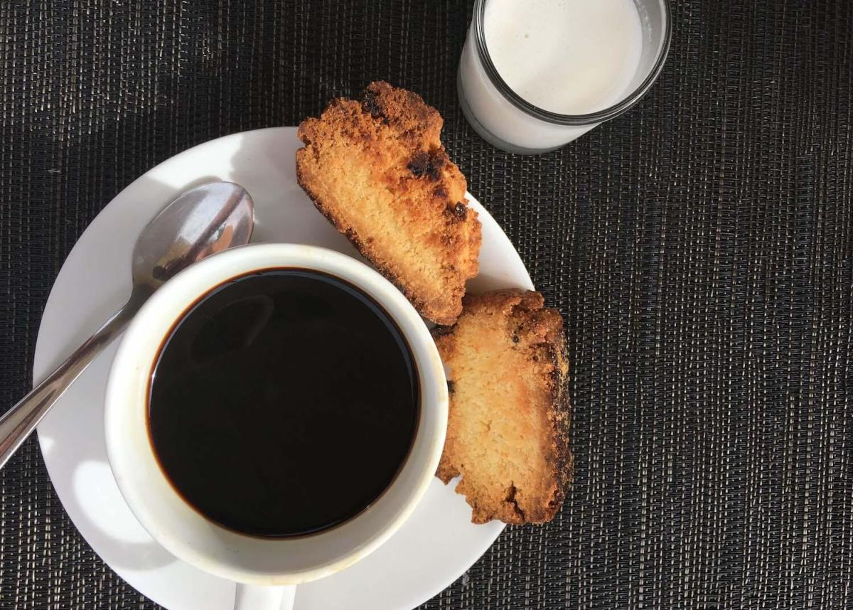 Close up of Tagbuana coffee