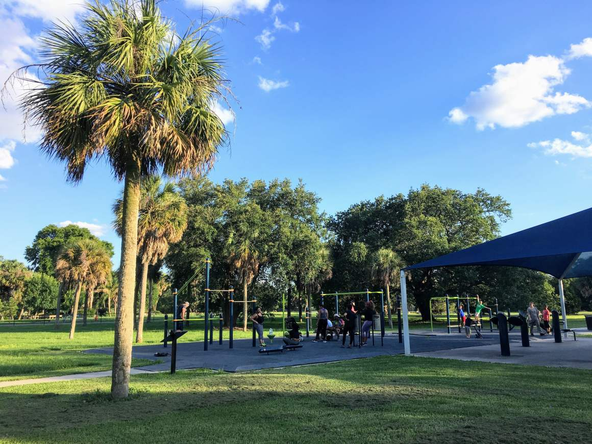 City Park New Orleans Solo Travel Workout Destination