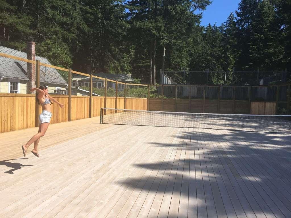 Outdoor Tennis Courts Savary Island
