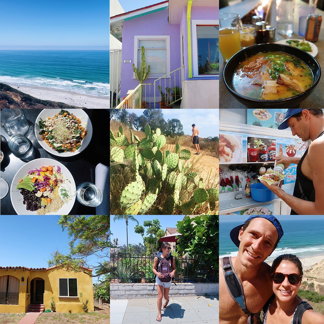 48 Hours in San Diego by bike itinerary cover