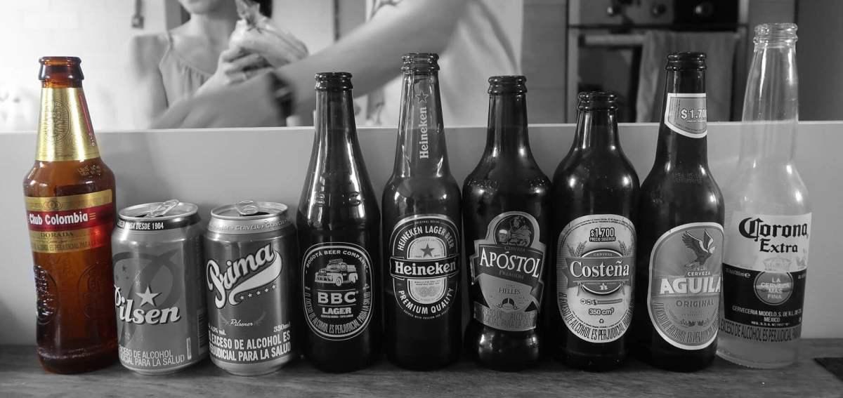 Club Colombia Colombian Beer Blind Taste Test