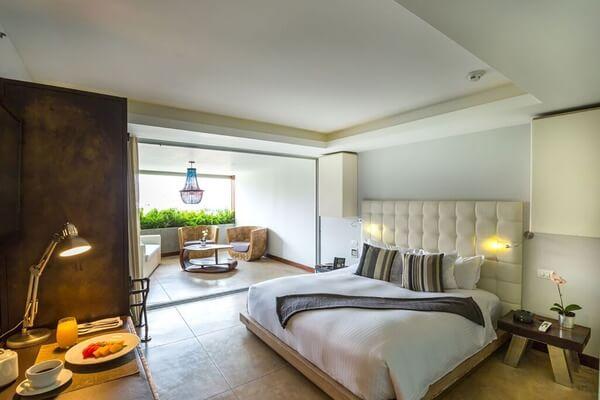 Room in Medellin's Charlee Hotel