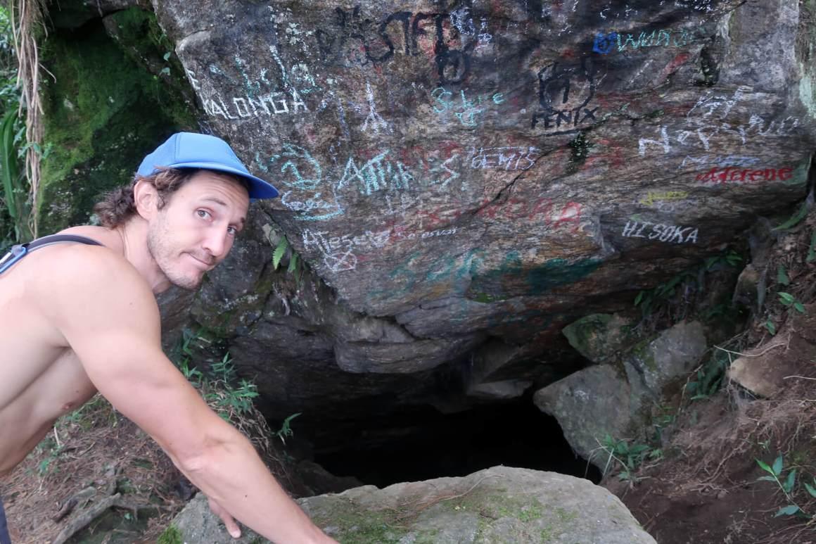 the famous Cuevas del Higueron