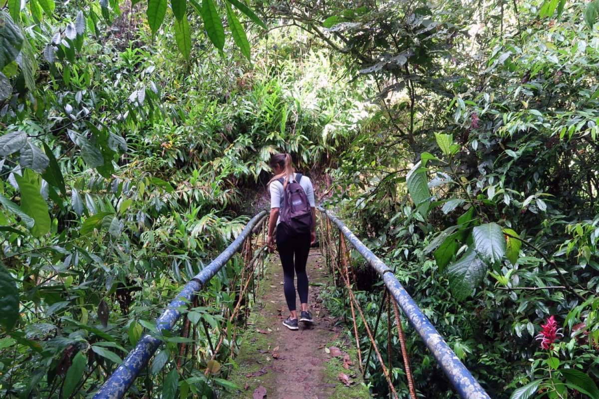 Hiking Jardin Waterfall Antioquia