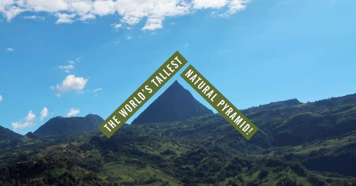 cerro tusa worlds tallest pyramid venecia colombia