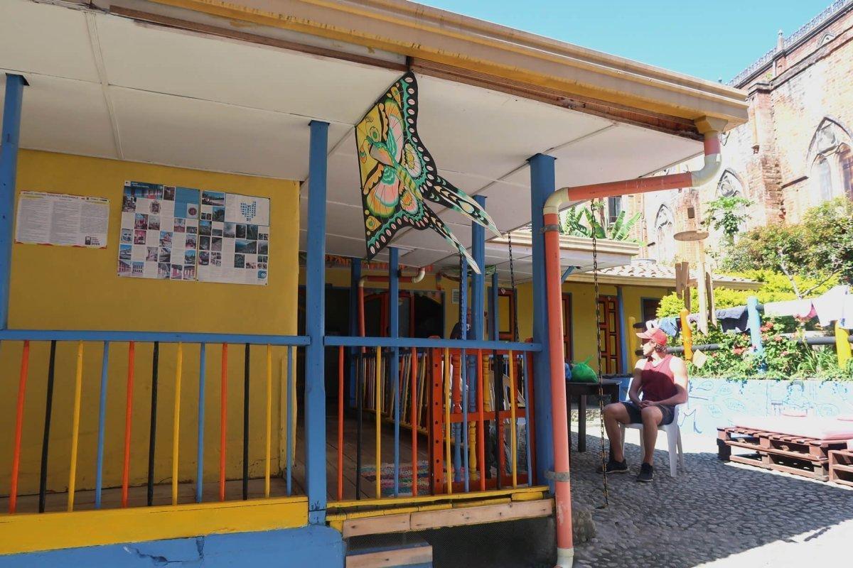 las cometas hostel jerico colombia