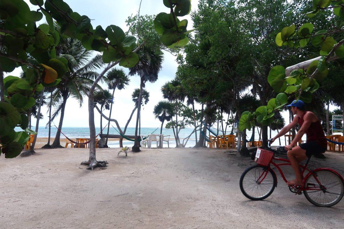 bahia soliman tulum guide mexico biking in tulum