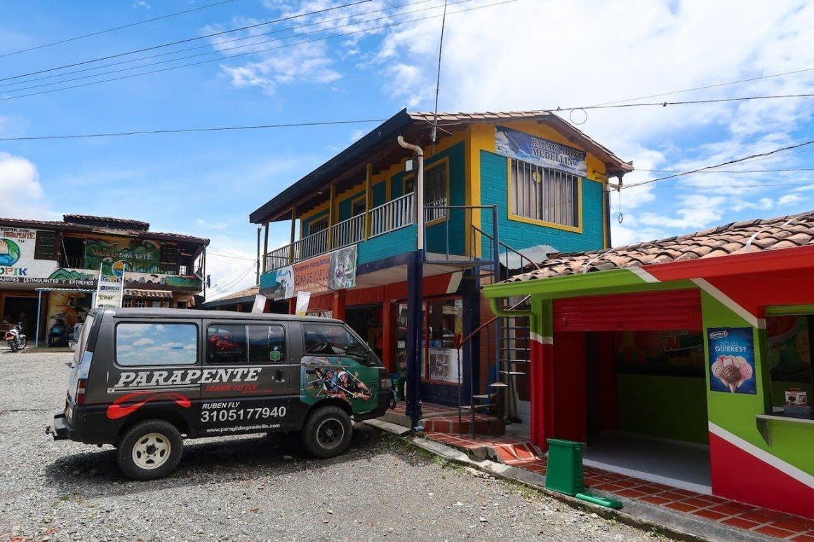 Paragliding Medellin offices