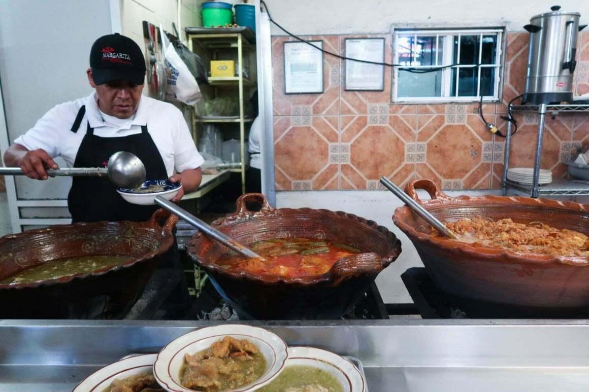 fonda margarita where to eat in mexico city