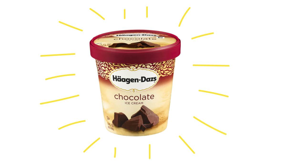 Photo of Haagen Dazs ice cream, the winner of our search for the best ice-cream in vancouver taste test