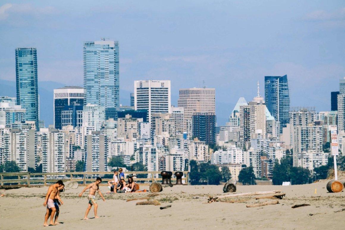 locarno beach cityscape vancouver beaches