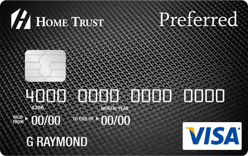 Home Trust Preferred Visa credit card