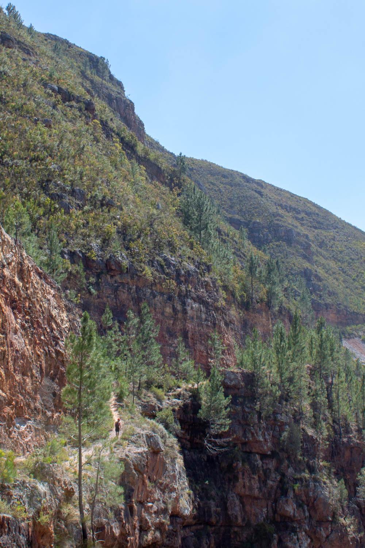 Walking along the cliffs