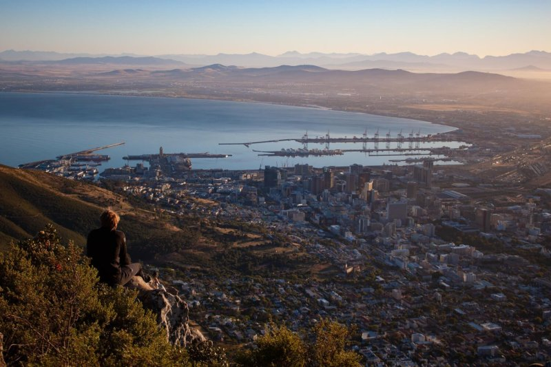 View of Cape Town from Lion's Head