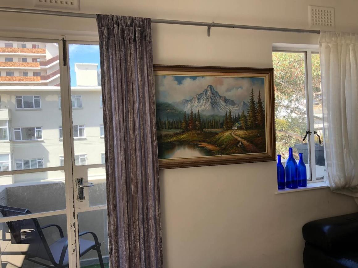 Horrible painting in a Cape Town apartment we found.