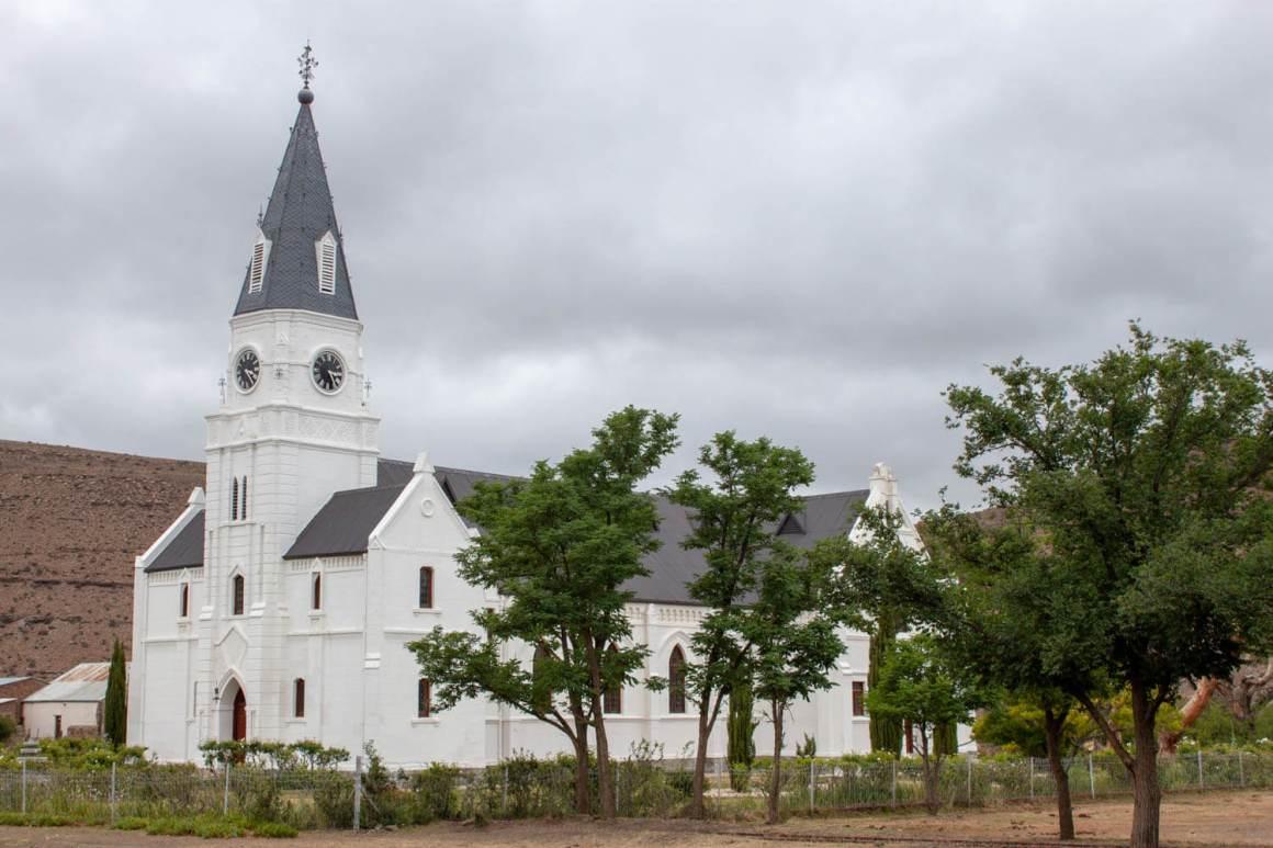 Nieu Bethesda church