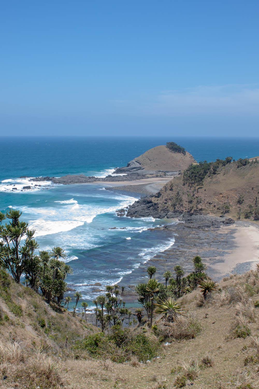 scenic wild coast beach