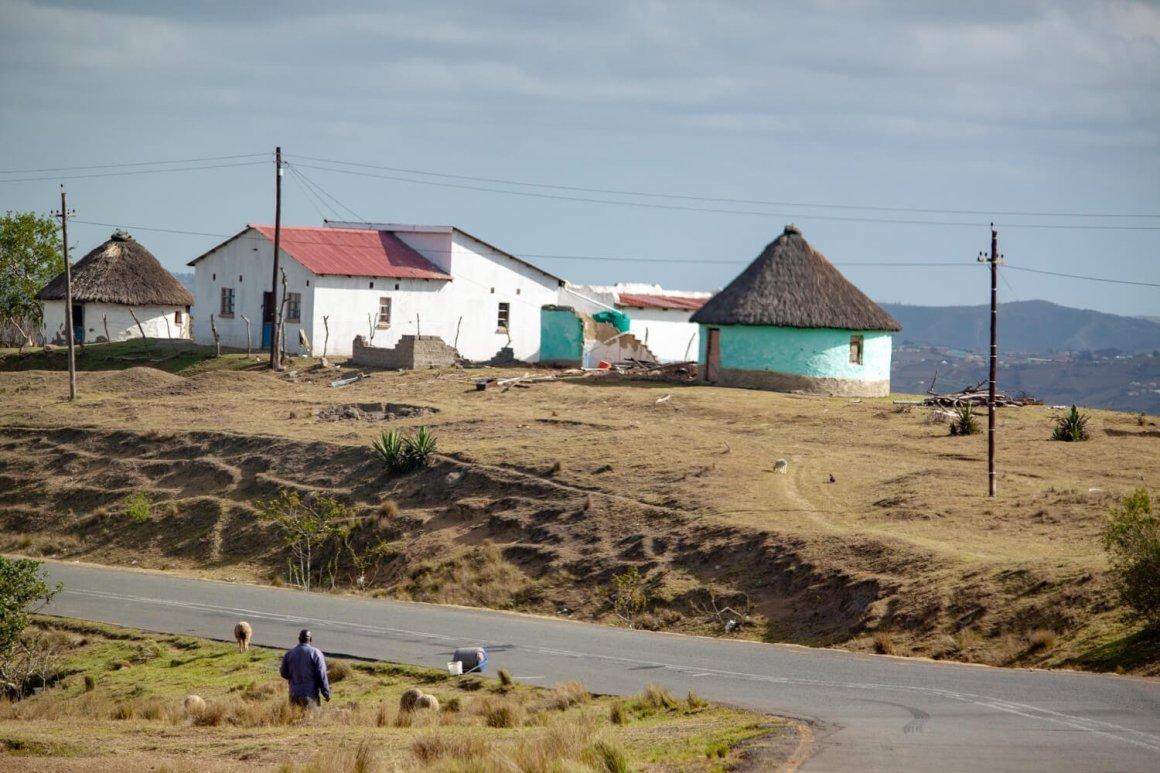 Remote Wild Coast road
