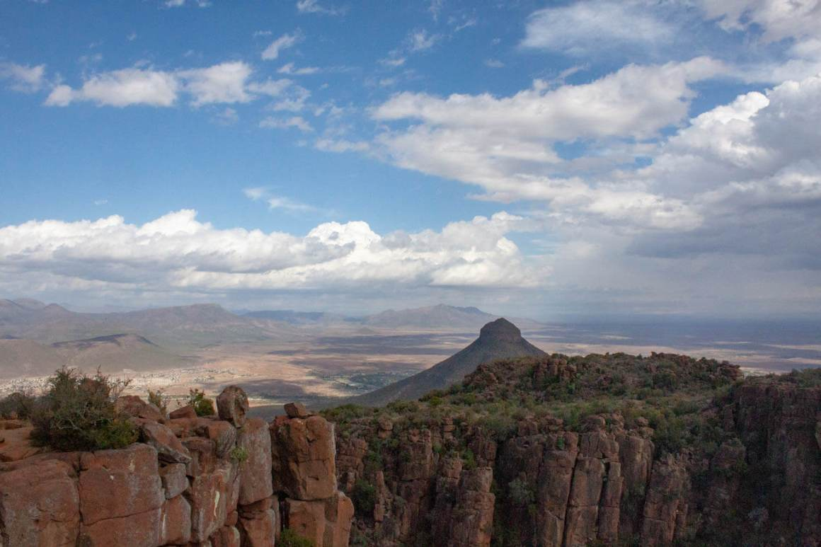 Valley of desolation view