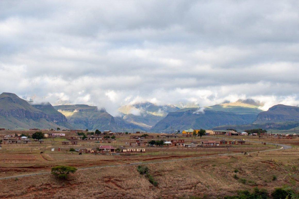 Village near Drakensberg