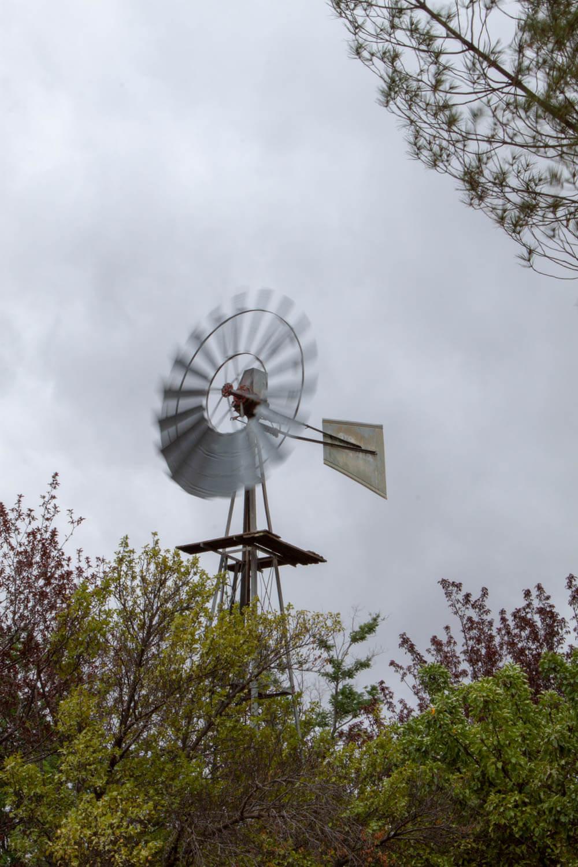 Spinning windmill in Nieu Bethesda