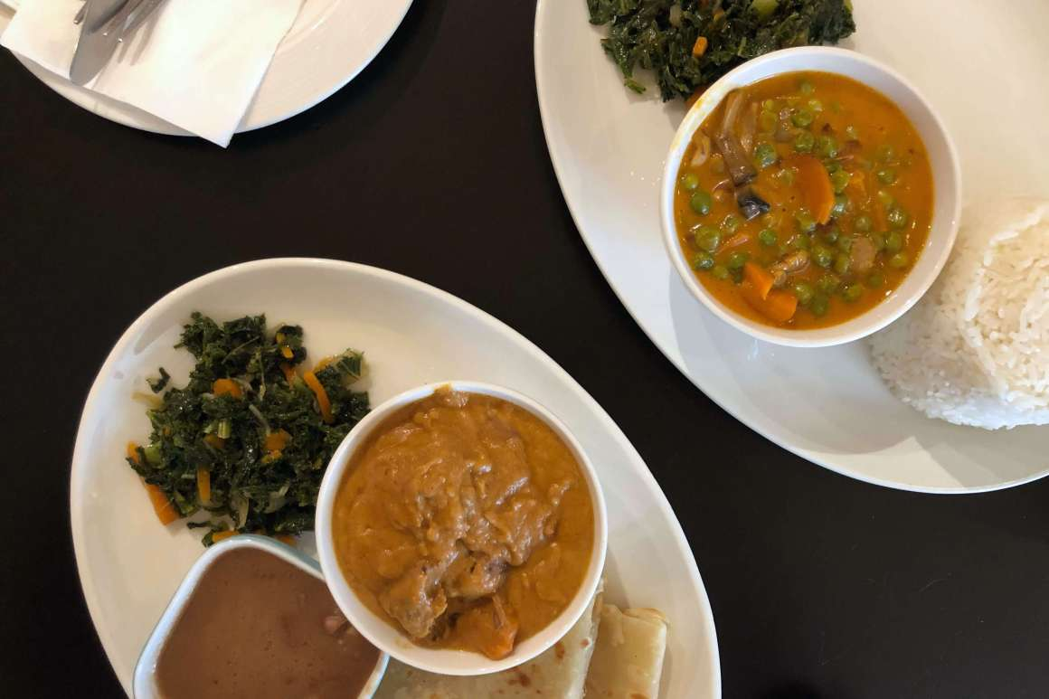 African food.