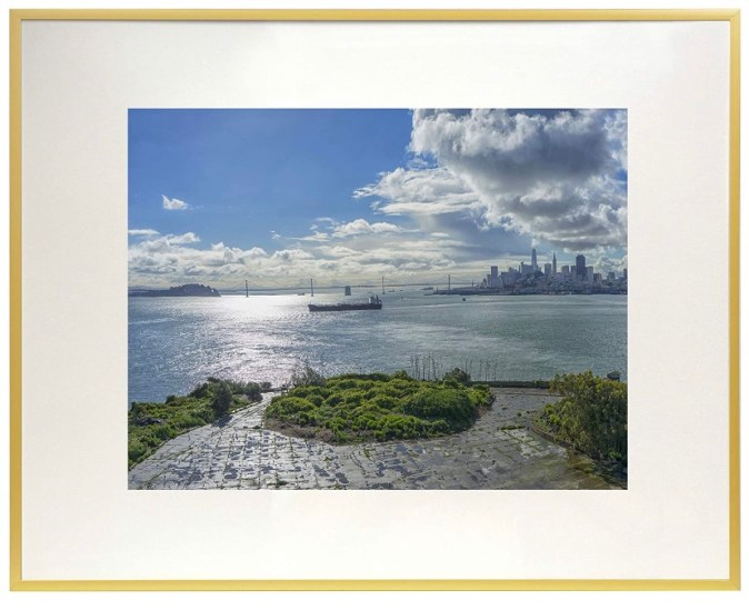 Gold 16x20 poster frame for a gallery wall