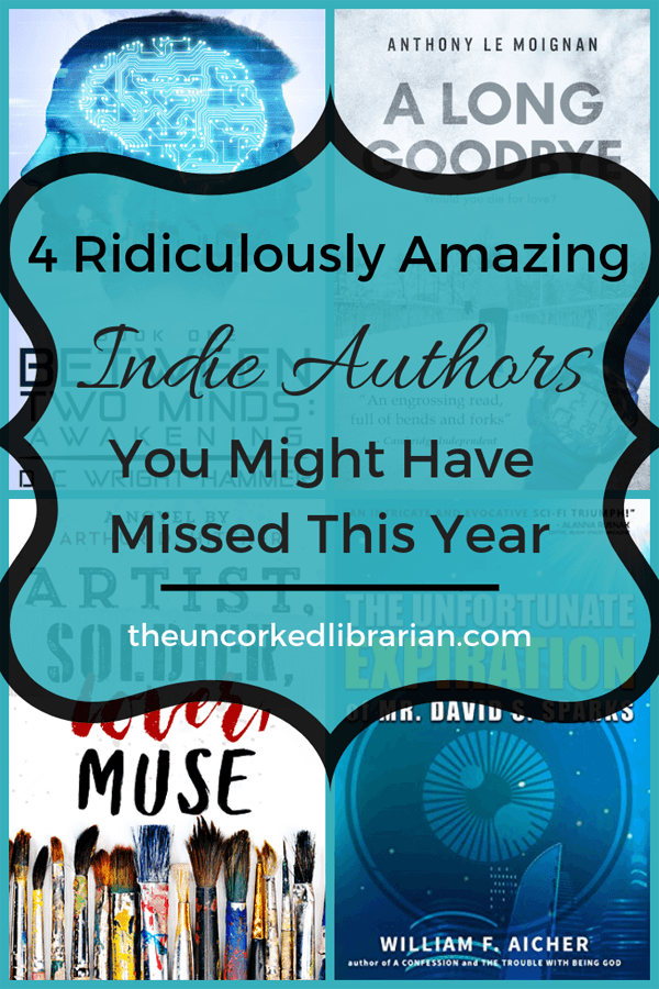 Best Indie Authors with 4 book covers